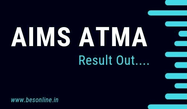 AIMS ATMA Result 2020: Result declared on the official website