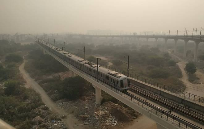 Delhi's air quality plunges to severe category