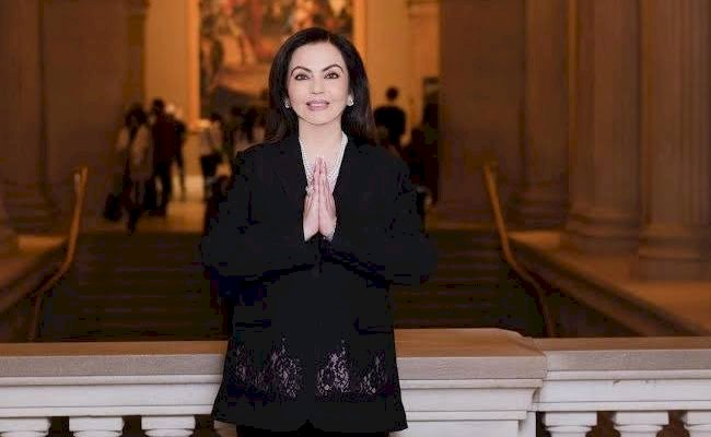 Nita Ambani Becomes 1st Indian Trustee to be Elected to Board of New York's Metropolitan Museum of Art