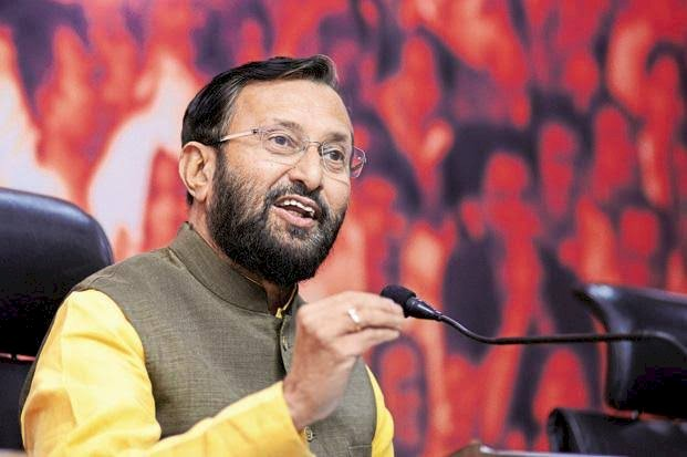 Prakash Javadekar takes electric car to Parliament asks public to join fight against pollution