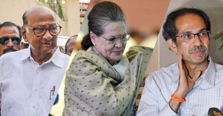 NCP-Shiv Sena-Congress writes to Maharashtra Governor :Have required numbers to form government