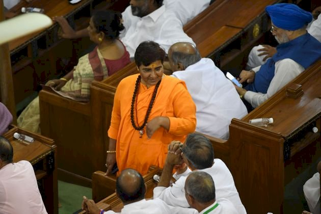 Sadhvi Pragya Singh Thakur removed from key defence panel
