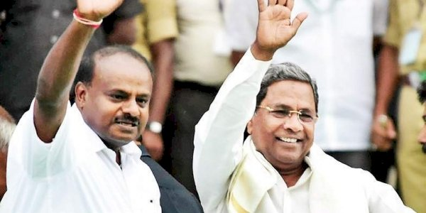 HD Kumaraswamy and CM Siddharamaiah booked for sedition defamation
