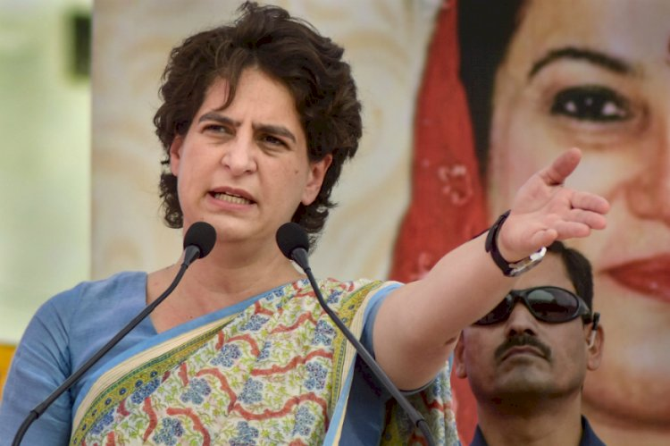 Priyanka Gandhi Attacks UP Government Over Mid-Day Meals
