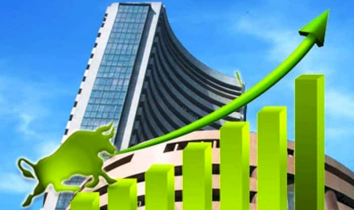 Sensex zooms 428 points; Nifty ends near 12,100