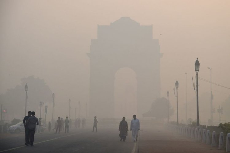 Delhi Air Quality improves to a moderate category