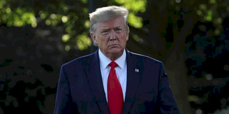 White House Representatives vote to impeach President Donald Trump for abuse of power