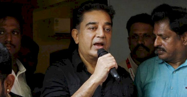 Kamal Hassan tweets applauds  Government  for stoking the fire of Satyagraha with stupidity and Glee