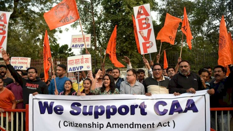 Academicians from Various Institutes come together to support CAA