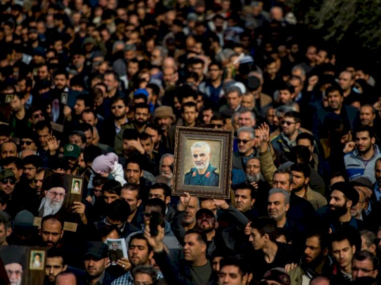 Soleimani burial postponed due to crowded and deadly stampede