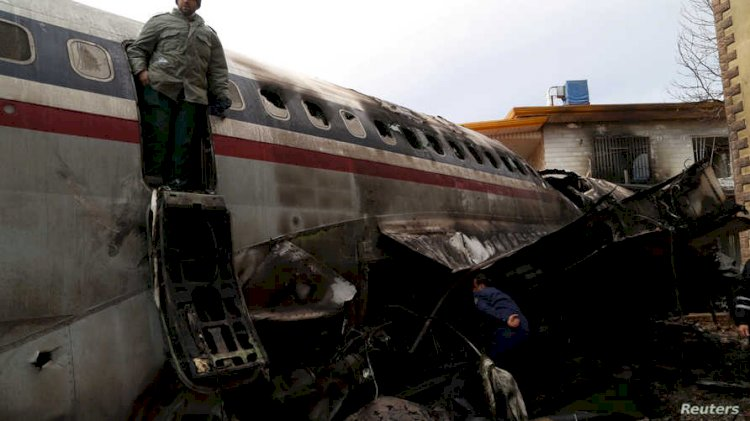 Ukrainian Boeing 737 with 170 passengers crashed in Iran after Take off