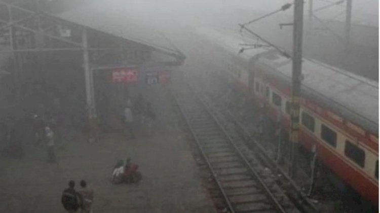12 trains delayed due to low visibility in northern railway region