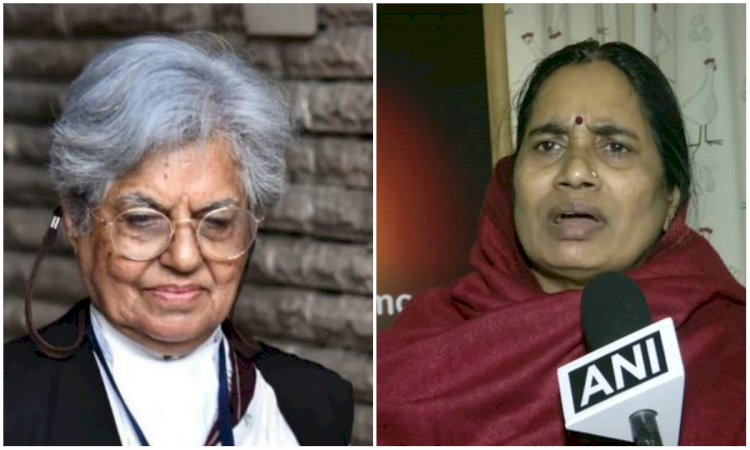 Advocate Indira Jaising urges Nirbhaya's mother to forgive Rape accused and asks to Follow Sonia Gandhi's example