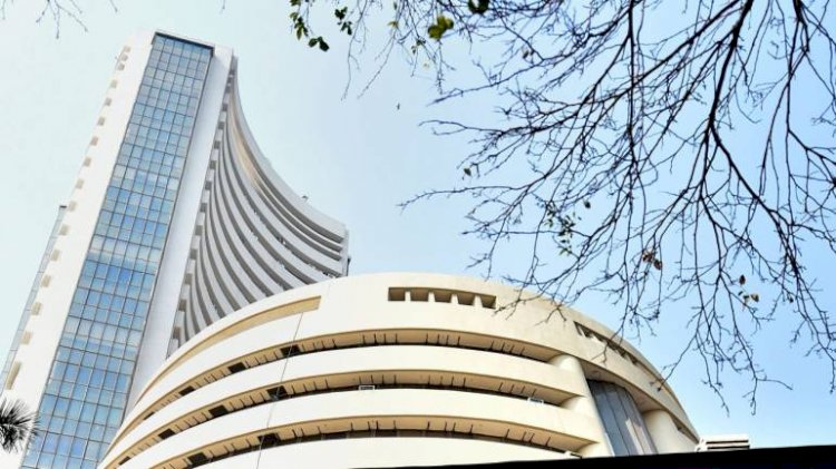Sensex is down 221.90 points or 0.53 percent at 41307.01