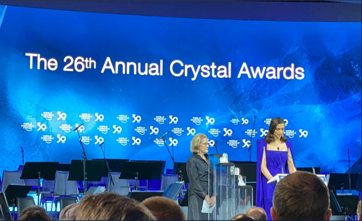 Deepika Padukone awarded Crystal awards for her contribution in mental awareness