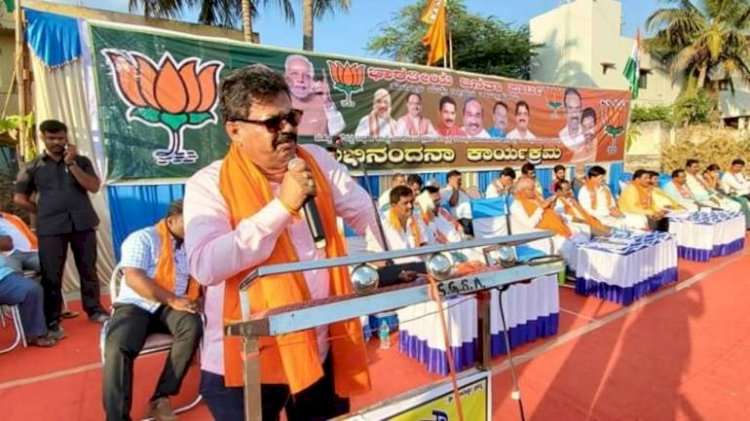 BJP MLA MP Renukacharya at pro-CAA rally accuses Muslims for collecting weapons in mosques instead of praying