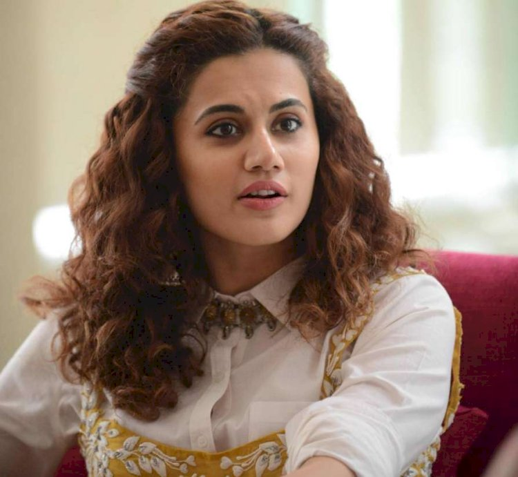 Tapsee's Shabaash Mithu first look poster out