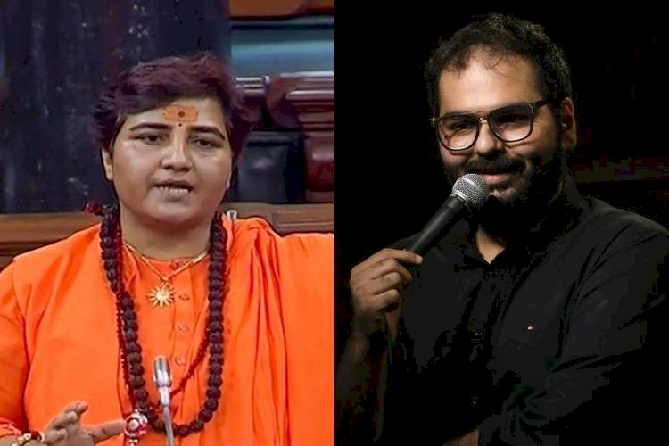 Twitterati Questions: Why Hypocrisy? Kunal Kamra banned from Flying but Pragya Thakur can Fly ?