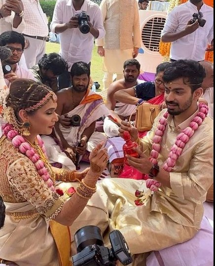 Prachi and Mahat  ties Knot today ,Simbu and Anirudh rocks the party
