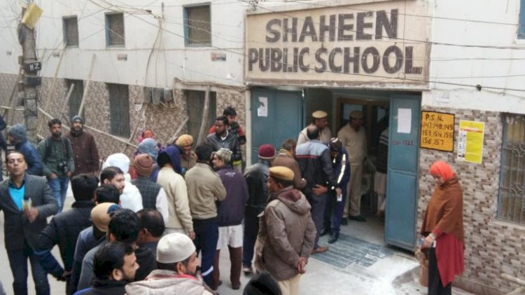 Delhi Polls : Shaheen Bagh goes to vote with heavy security