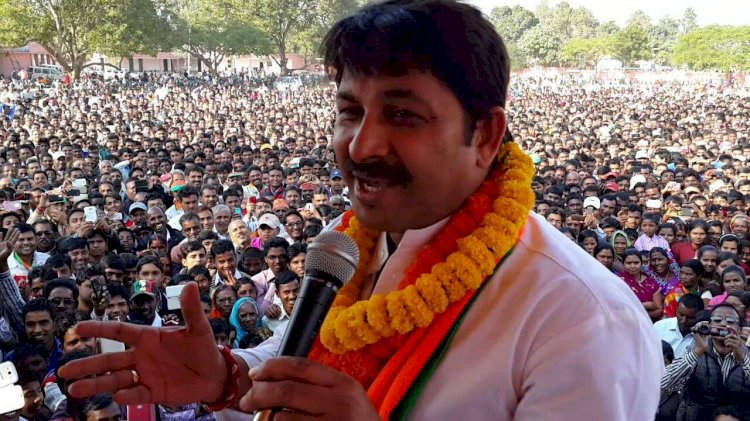Delhi BJP chief Manoj Tiwari  says his Sixth Sense predicts BJP will form govt in Delhi
