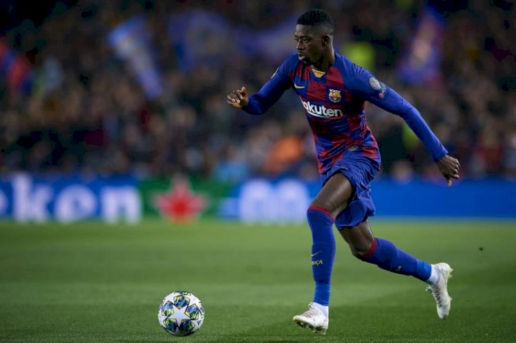Ousmane Dembele will be sidelined for six month after undergoing surgery