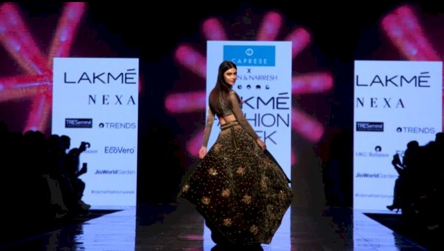Diana Penty sizzles in bralette top and skirt