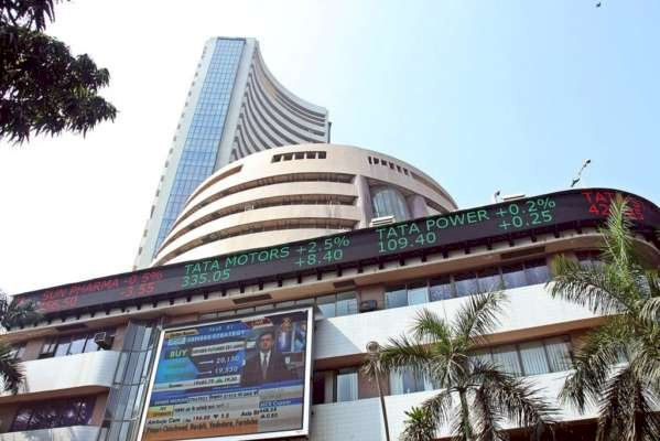 Sensex is up 130.22 points