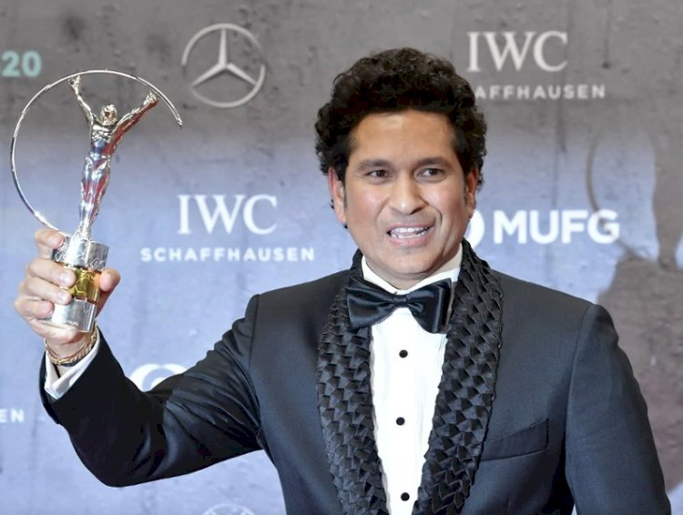 Sachin Tendulkar wins 'Laureus Best Sporting Moment' award