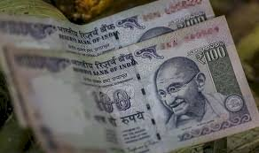 Indian rupee declined by 10 paise