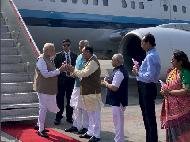 PM Modi to welcome Donald Trump at Ahmedabad airport
