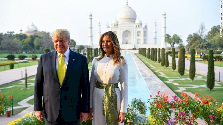 Donald Trump and First lady resumes their second day from Rashtrapathi Bhavan Visit