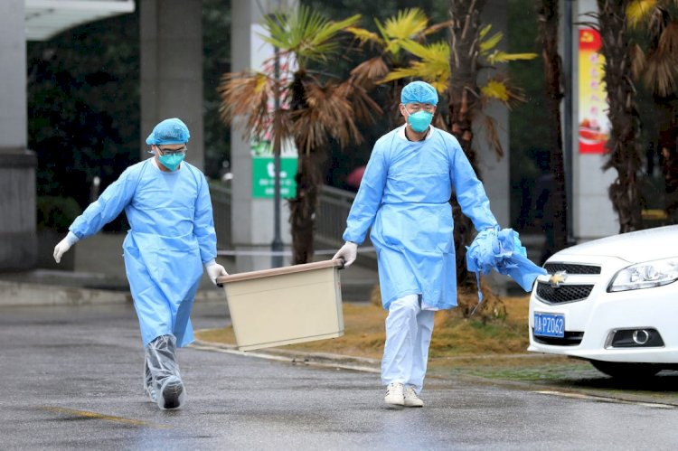 Death toll of coronavirus in China climbs to 2,835