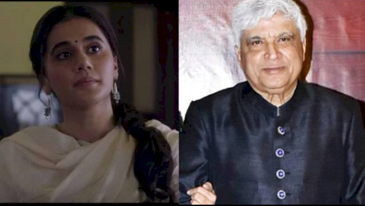 Javed Akhtar praised Anubhav Sinha's Thappad on social media