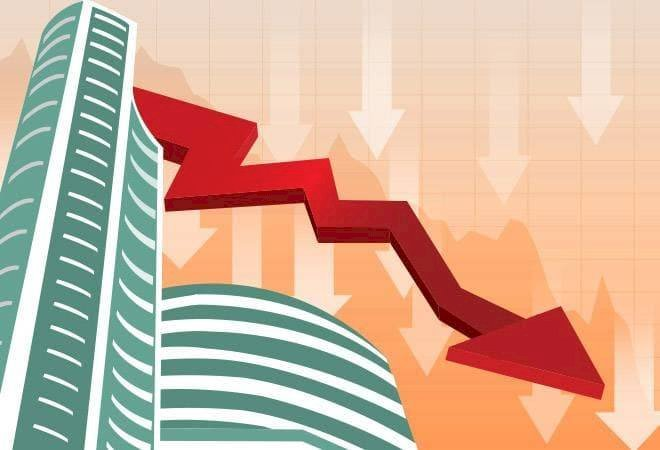 Sensex is down 86.50 points or 0.24%