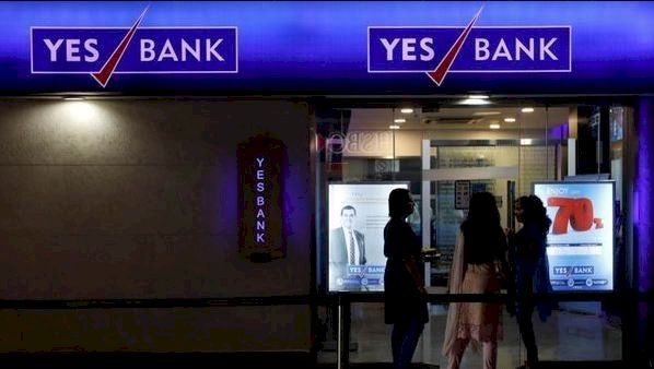 Sensex plummets over 1,100 points, Nifty sinks below 11,000, Yes bank shares plunges