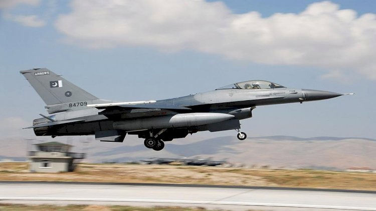 Pakistan Air Force F-16 crashes in capital city of Islamabad