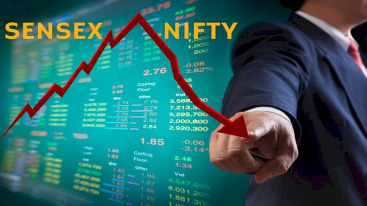 Sensex is down 298.17 points or 0.95%