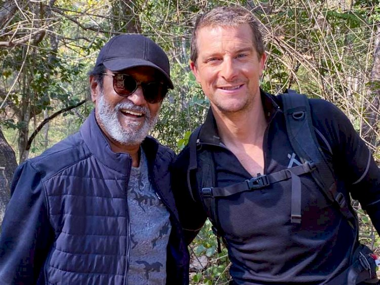 Rajinikanth's episode of into the wild with Bear Grylls to be launched first on OTT app
