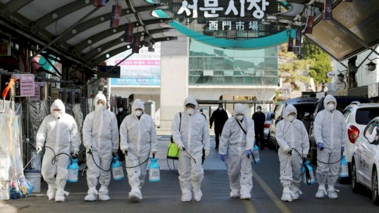 South Korea reports 78 new coronavirus cases, total count over 9,600