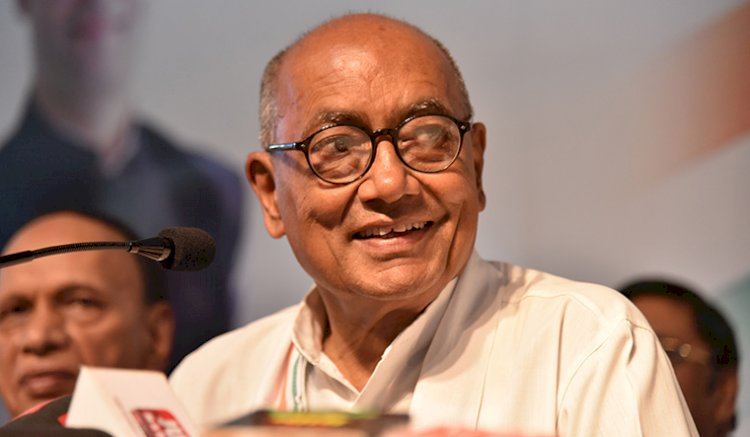 Instead of thali and diyas, counsel people like Singapore PM on Covid-19: Digvijaya Singh to PM Modi