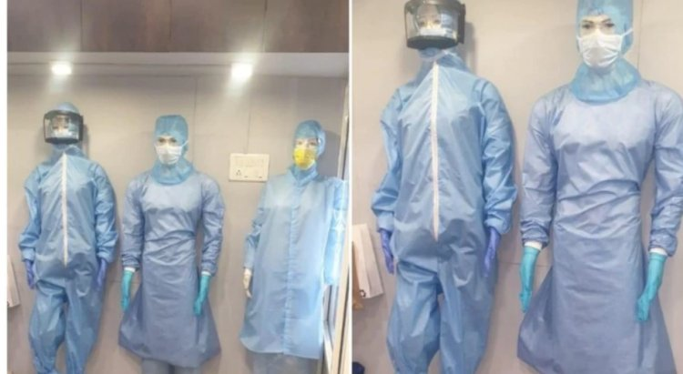 Manufacturers in Ahmedabad design splash-proof PPE kits for doctors, healthcare workers