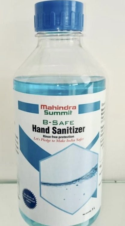 After Ventilators And Shields, Mahindra Starts Producing Sanitizers