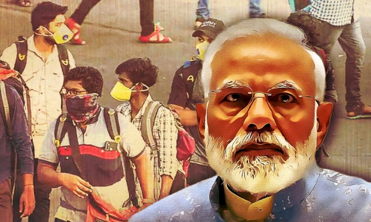 Home Ministry issues guidelines for Lockdown 2.0:Wearing of face cover is compulsory , Spitting in public places is punishable