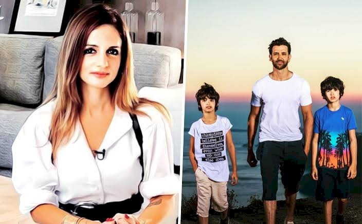 Sussanne Khan shares glimpse of her life in lockdown with Hrithik Roshan and their sons.