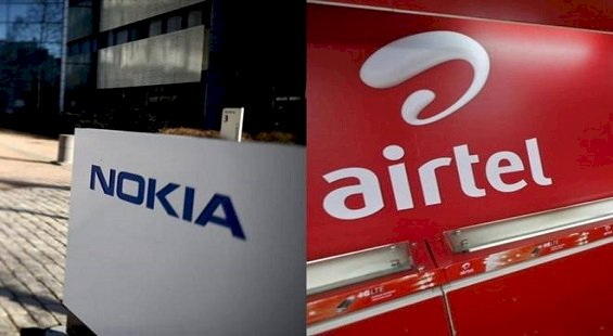 Airtel Signs $1-Billion Deal With Nokia to Boost Network Capacity
