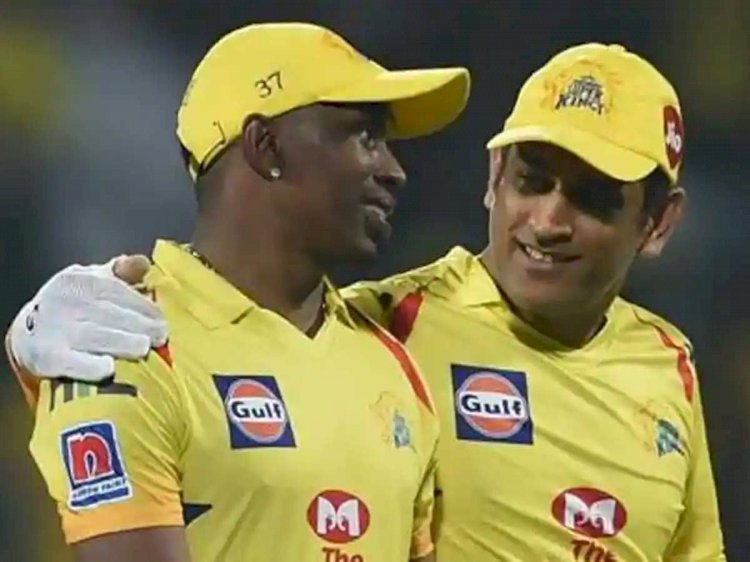 Dwayne Bravo on song on MS Dhoni: He's at the end of his career, want to do something special