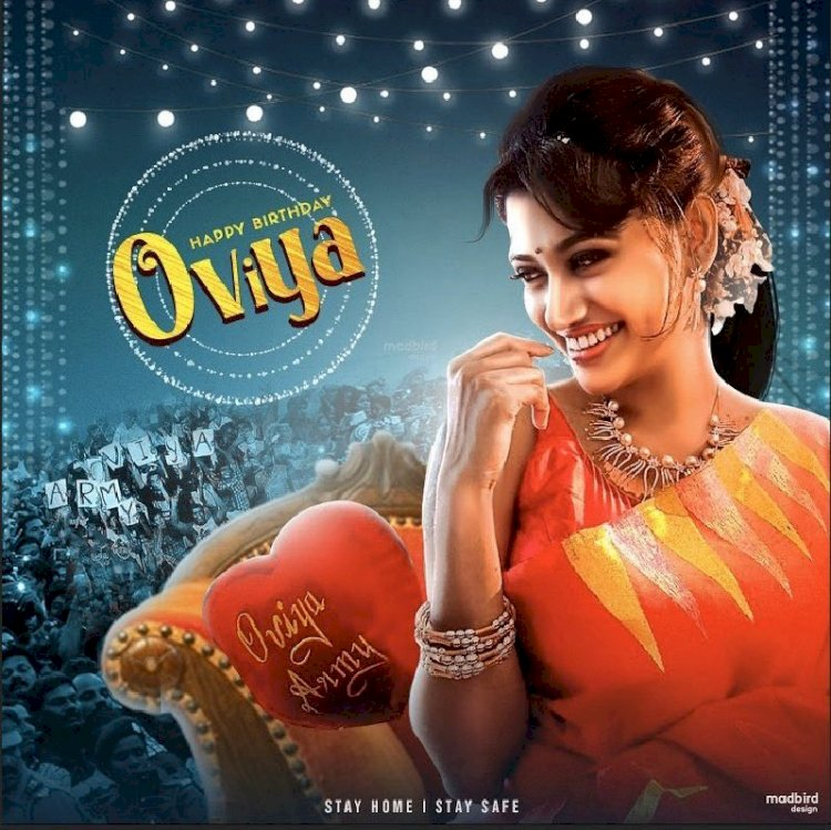 Oviya Helen Birthday Special! Audience celebrates with trending posters