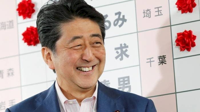 Olympics must be held in a way that shows the world has won its battle against Covid-19: Shinzo Abe