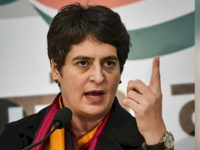 Centre spent Rs 100 crore on Trump event, why should poor migrants pay train fare: Priyanka Gand